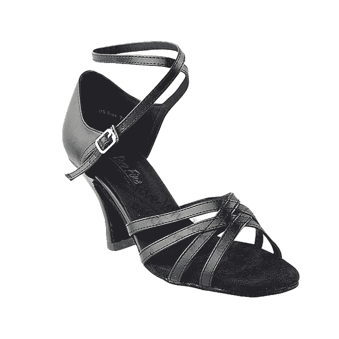 1606 black leather Very Fine Dance Shoes for ballroom, salsa, Latin, wedding, party & tango