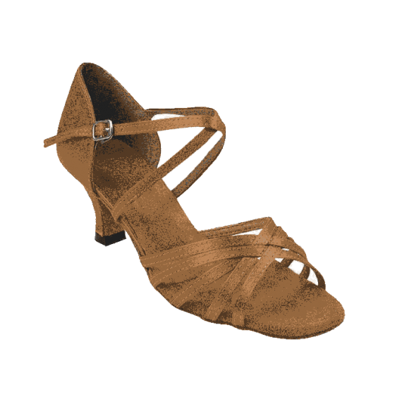 1613-dark tan  Very Fine Dance Shoes for ballroom, salsa, Latin, wedding, party & tango