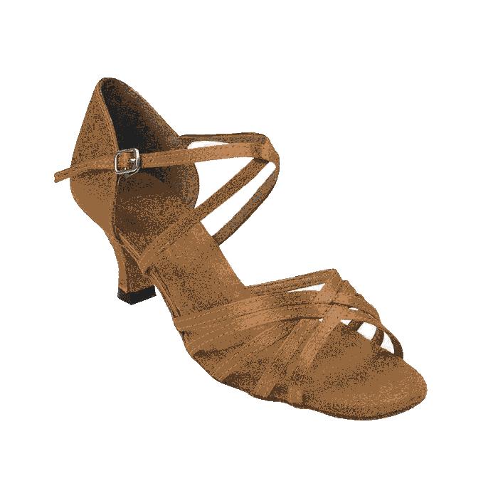 1613-dark tan Very Fine Dance Shoes for ballroom, salsa, Latin, wedding, party & tango