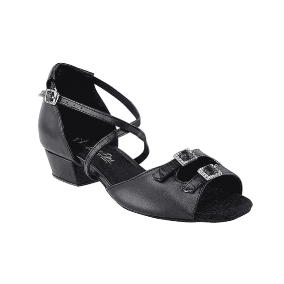 1620ft black Very Fine Dance Shoes for practice, ballroom, salsa