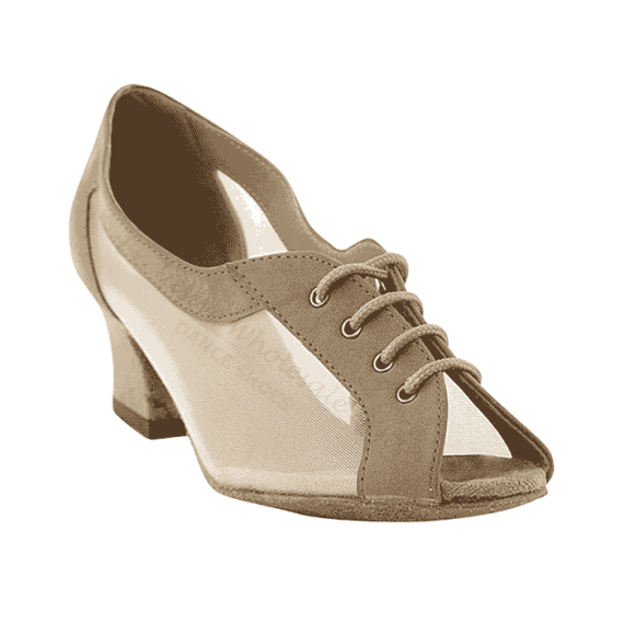 1644 brown nubuck Very Fine Dance Shoes for ballroom, salsa, practice