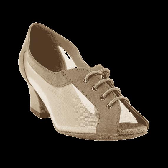 1644 brown nubuck Very Fine Dance Shoes for ballroom, salsa, practice