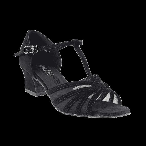 "16612 black nubuck Very Fine Dance Shoes 2"" for ballroom, salsa, practice"
