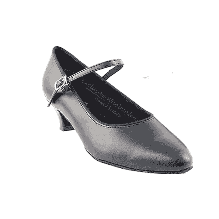 "1682 black 1.3 "" Very fine shoes for practice, salsa, ballroom and latin"
