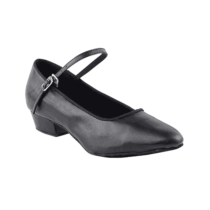 1682ft black Very fine shoes for practice, salsa, ballroom and latin
