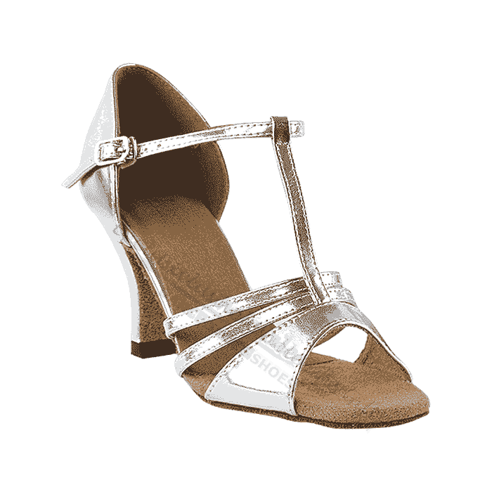 1683 silver Very fine shoes for, wedding, salsa, ballroom, latin
