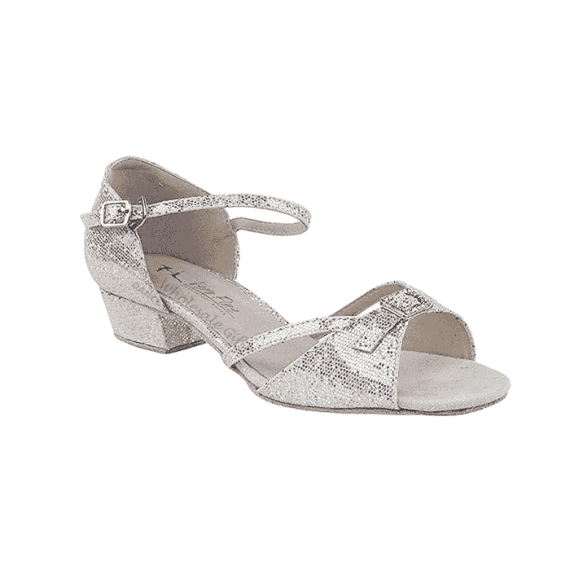 1720ft silver Very Fine Dance Shoes for ballroom, salsa, Latin, wedding, party & practice