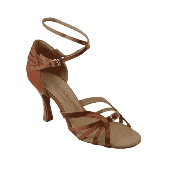 Sera1145 Very Fine Satin Dance Shoes for ballroom, salsa, Latin, wedding, party & tango