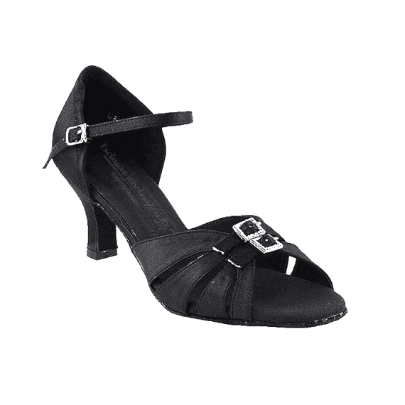 Sera1131 Very Fine Satin Dance Shoes for ballroom, salsa, Latin, wedding, party & tango
