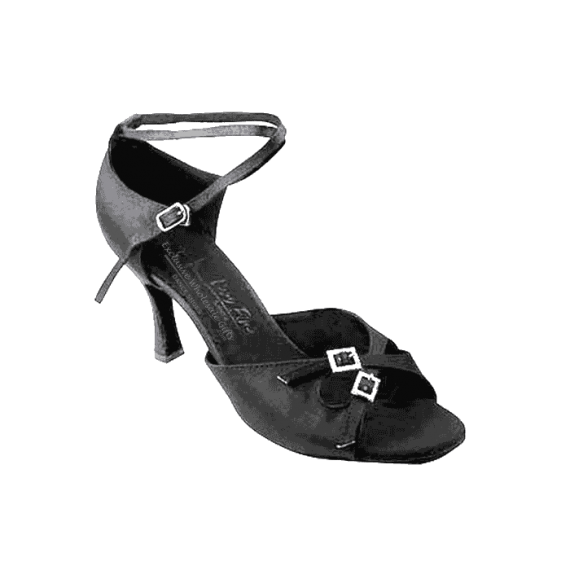 Sera1153 Very Fine Satin Dance Shoes for ballroom, salsa, Latin, wedding, party & tango.