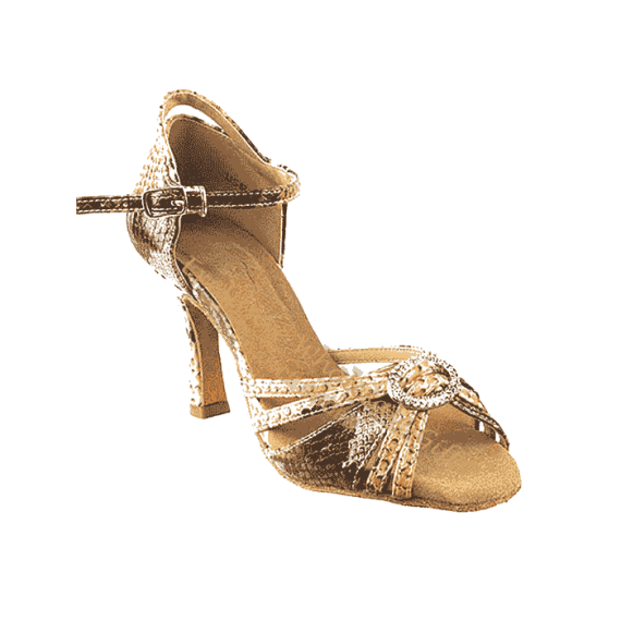 Sera1154 Very Fine Ankle Strap Dance Shoes for ballroom, salsa, Latin, wedding, party & tango.