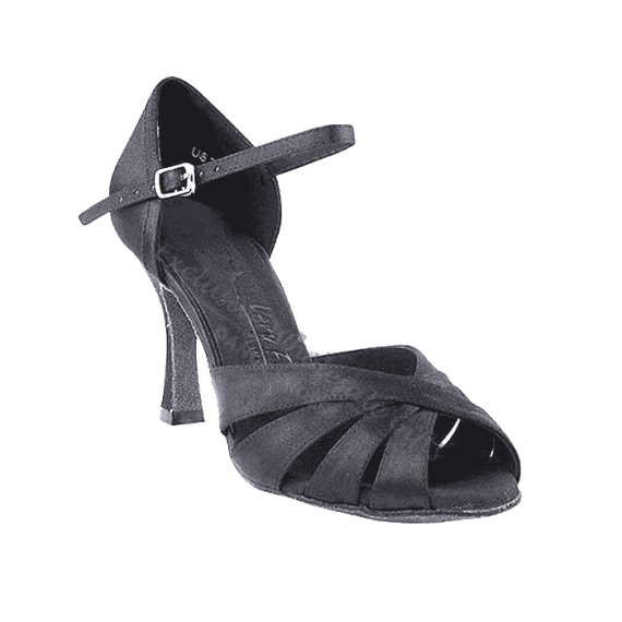 Sera1311 Very Fine Satin Dance Shoes for ballroom, salsa, Latin, wedding, party & tango