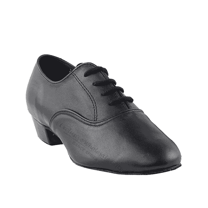 915108B Very Fine Leather Black Dance Shoes