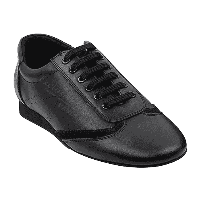 Sero104BBX Very Fine Leather Black Dance Shoes for ballroom, salsa, Latin, wedding, party & tango
