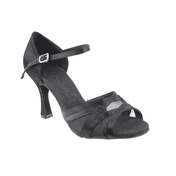 Sera1398 Very Fine Satin Dance Shoes for ballroom, salsa, Latin, wedding, party & tango