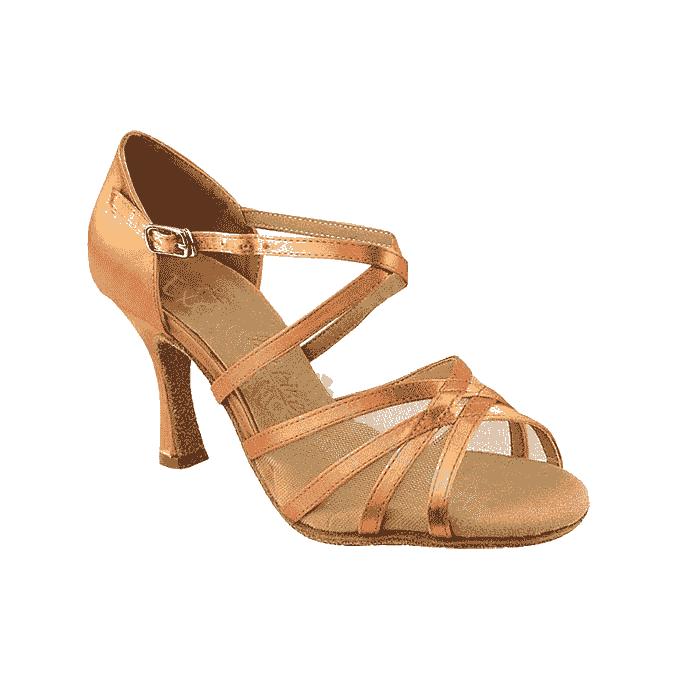 Sera1605 Very Fine Satin Dance Shoes for ballroom, salsa, Latin, wedding, party & tango