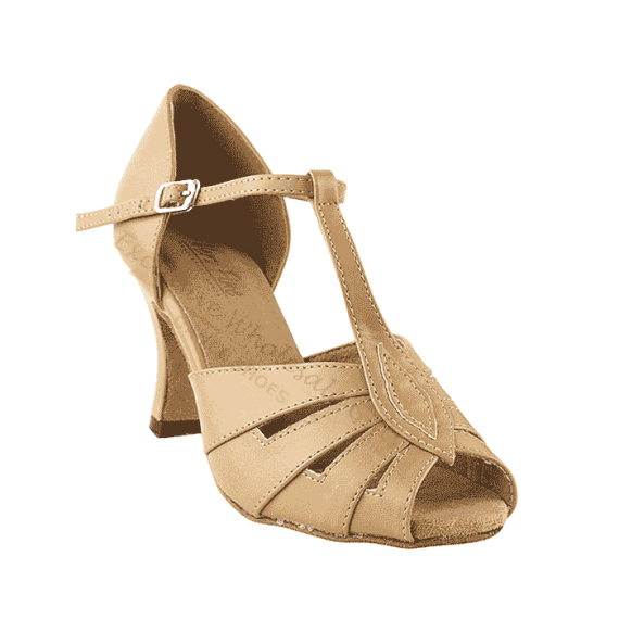 2702 beige Very Fine Dance Shoes for ballroom, salsa, Latin, wedding, party & tango
