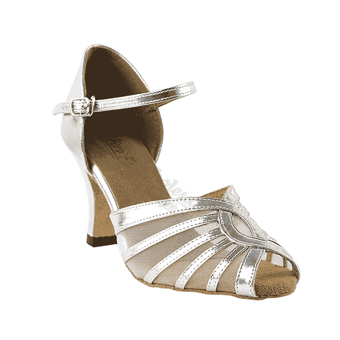2719 silver Very Fine Dance Shoes for ballroom, salsa, Latin, wedding, party & tango