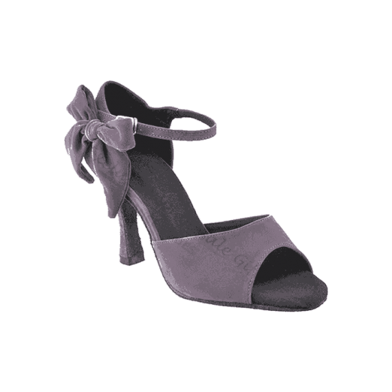 Sera7010 grey Very Fine Dance Shoes for ballroom, salsa, tango, wedding
