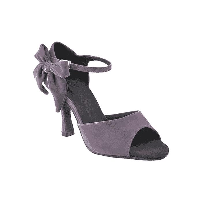 Sera7010 grey Very Fine Dance Shoes for ballroom, salsa, tango, wedding